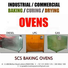 """""""POWDER COATING INDUSTRIAL/COMMERCIAL CURING OVENS"""""""