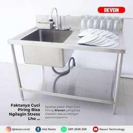 Meja Sink Cuci Piring 1 Bak 2 Shap bisa custom di klaten