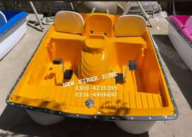 fiberglass paddle boat for 5 persons