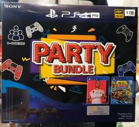 Ps4 pro the ultimate gaming machine now available in party bundle
