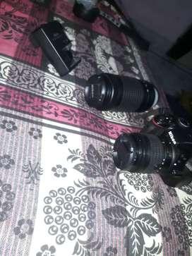 Nikon camera 3300d new hai