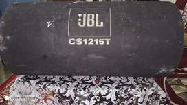 JBL car bass tube and amplifier