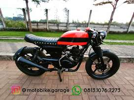 Custom Caferacer Japstyle Pulsar 180cc pajak ON