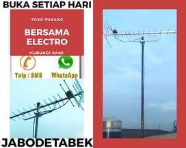 Toko layanan pemasangan sinyal antena tv murah