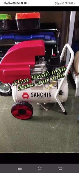 Dian teknik jogja buka smp mlm //kompresor 1 hp 25 ltr new redy