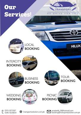 All Type Of Vehicle Rent A Car Karachi and Hyderabad To All Pakistan