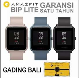 Xiaomi Amazfit BIP Lite Black smartwatch Garansi Resmi inter version