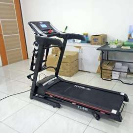 TL-645 Electric Treadmill 2hp+Mass(manual incline) Murah Dijamin Asli