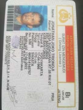 Driver SIM B1umum
