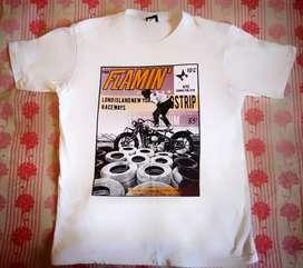 T-shirt for men ( White )