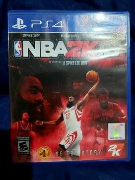 CD Game Original PS4 NBA 2K 16