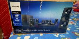 PHILLIPS DVD WITH 5 in 1Home theater