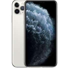 iphone 11 pro max 256 dual nano / hk set silver