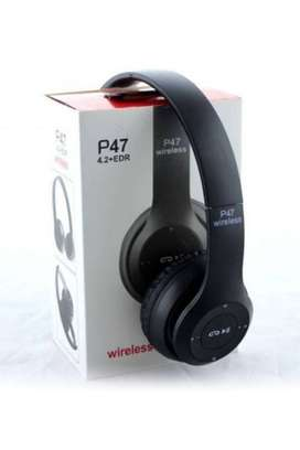 BEATS BLUETOOTH WIRELESS HEADPHONE  - BLACKP47