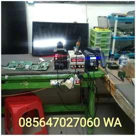 Service TV Panggilan LED, LCD, PLASMA Servis Sgla Merk TV Garansi