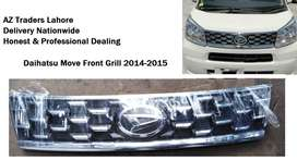 Daihatsu Move 2014 2015 Front Bumper Grill Genuine Original Japan