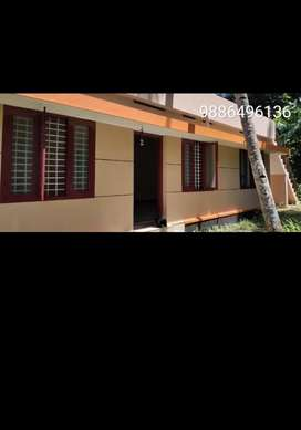 House for lease at anchalummodu
