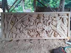 Ukiran relief batu alam