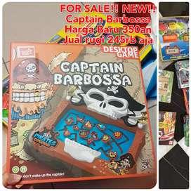 Mainan Captain Barbossa