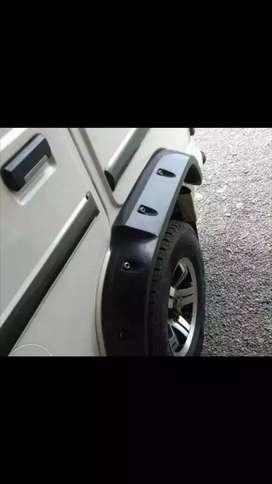 Bolero wheel arch