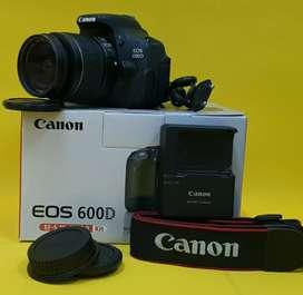 Canon eos 600D + lensa Fix
