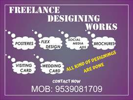 Freelancer design worker