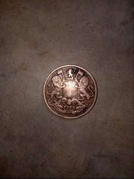 old coins 1834 rear coins