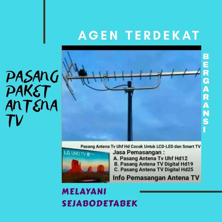 Layanan antena tv digital berikut pasang