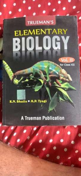 ELEMENTARY OF BIOLOGY vol 2