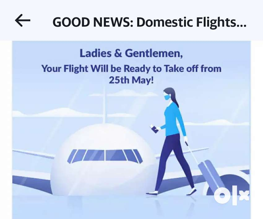 Airticket-Book here!.Domestic flight resumes from 25-May-2020. 0