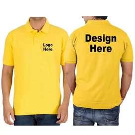 Mens Customized Collar TShirt