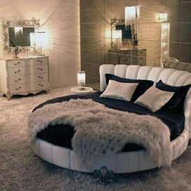 Round shape luxury BED