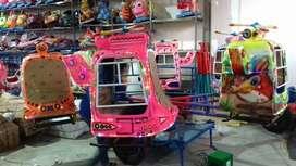 wahana pasar malam kereta komedi putar helikopter full lampu hias 11