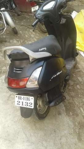 2014 model Honda Activa 18000 kilometre first owner coloured mat black