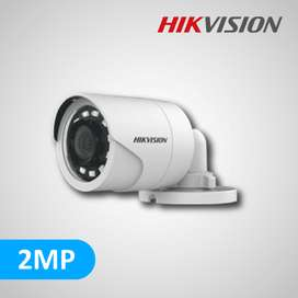 Hikvision 2 Camera CCTV installation package price 16k