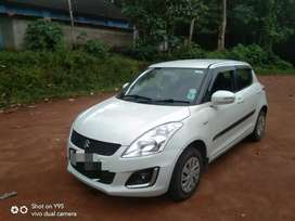 Swift vxi 2016 last model single owner company service