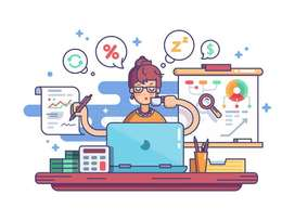 Need a Female Office Assistant Co-Accountant