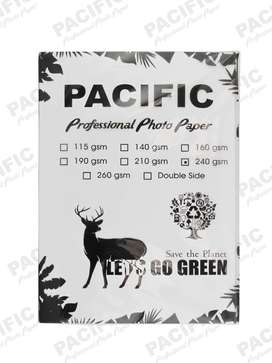 Kertas Foto Glossy Photo Paper A4 240 Gsm Pacific Premium - Isi 20 lbr