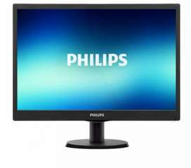 Desktop with 18.5 inch Philips lcd monitor