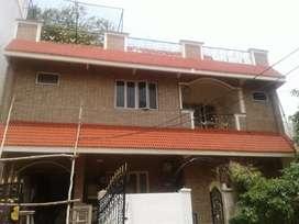 Rent: 3BHK: Seethammadhara: 1st floor of G+2 house for family