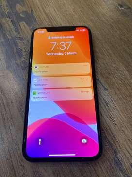 Immediate sell iphone x 256GB