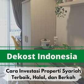 Jual unit cantik Kos Syariah bagi investor Bandung