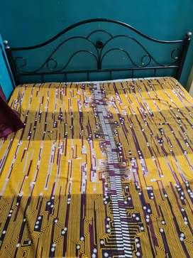 Bed with Wake fit Orthopedia  Memory foam Mattress