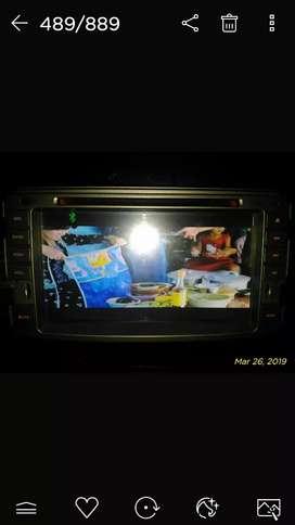 Head unit audio  for Toyota 7 inchi Dvd usb bluetooth