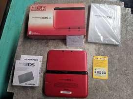 Nintendo 3DS XL Red 32GB Fullset 0