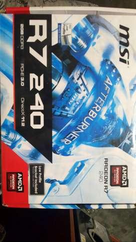 MSI graphic card AMD R7 240
