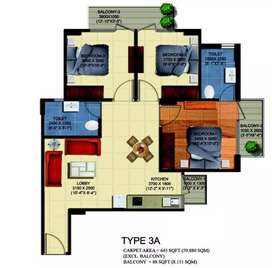 3bhk @ sector 56