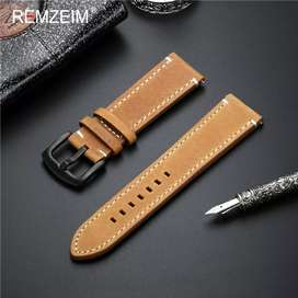 Genuine leather bands for Gear s3, galaxy watch ,Huawei gt1, gt 2
