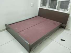 Low height Double bed- queen size