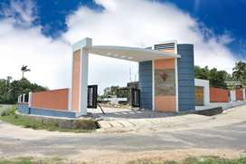 River facing gated community villas for sale near palakkad town